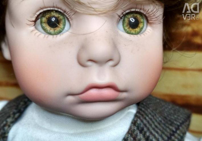 Collectible Boy doll by Susan Wakeen