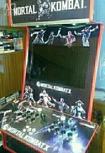 Arcade machine Mortal Kombat-X Hyperspin 2019