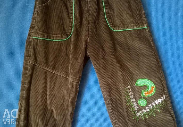 İlkbahar mevsiminde kadife pantolon, 92