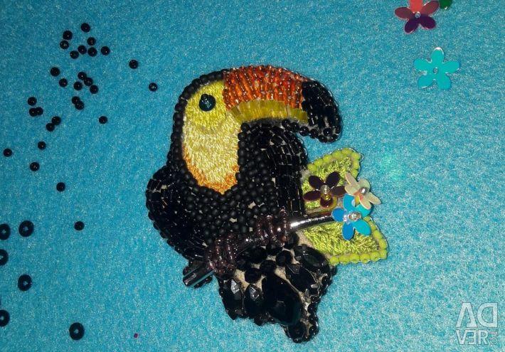 Brooch Toucan
