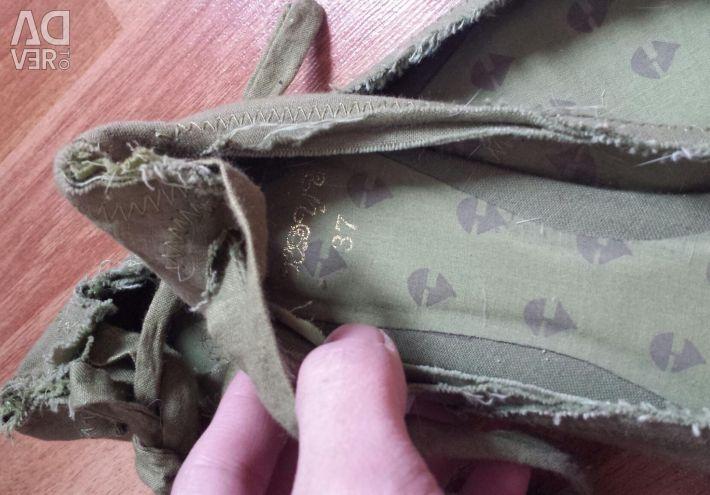 Ballet shoes zara new