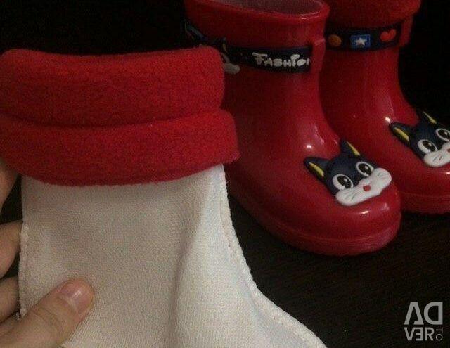 Καουτσούκ μπότες για το κορίτσι