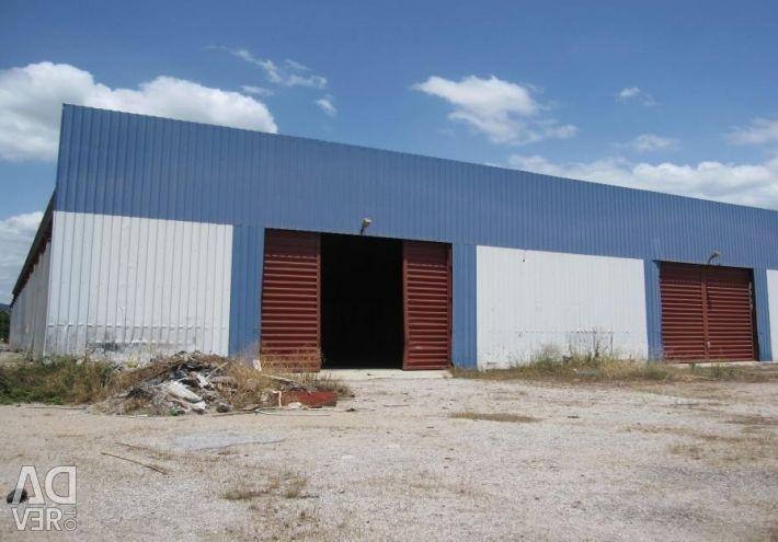 Βιομηχανικό κτίριο συνολικής επιφάνειας 4.817,50 τ.μ.