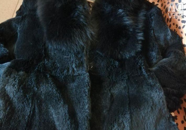 Fur coat goat