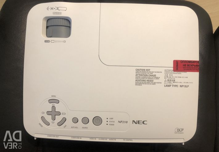 NEC Projector 3D function bright with hdmi warranty