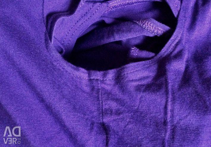 Top violet 50 de bumbac