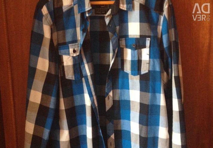 Κομψό πουκάμισο με μακριά μανίκια