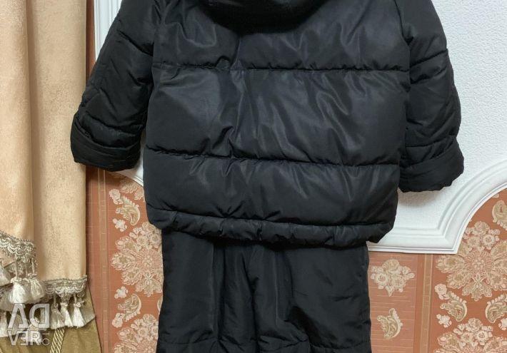 Κοστούμι Χειμερινό ΞΥΛΙΝΟ ΠΟΛΩΝΕΙΟ 3-5 χρόνια