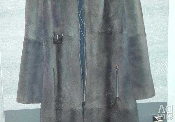 Sheared Nutria Coat