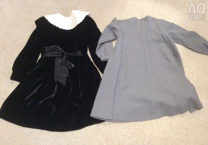 Βελούδινο φόρεμα και μαλλί Roberta di Camerino