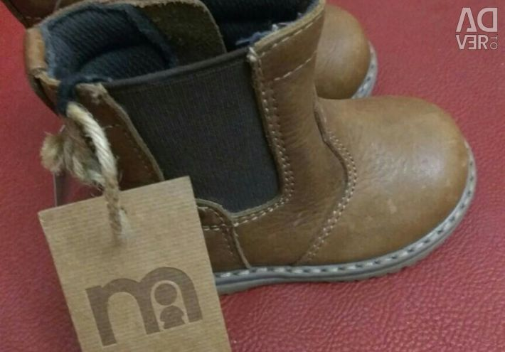 New Leather Boots Mothercare
