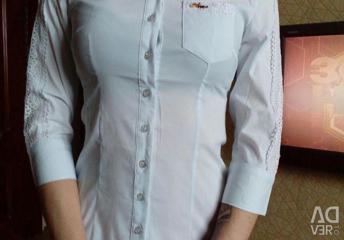 Σχολική μπλούζα.