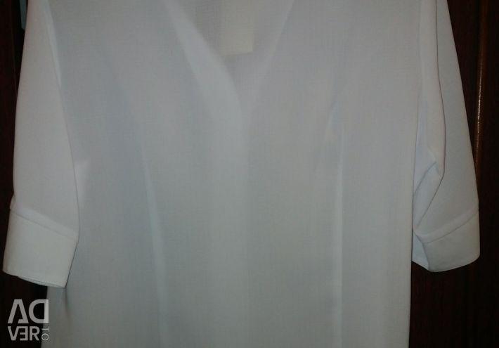 Bluza NOU alb r.50