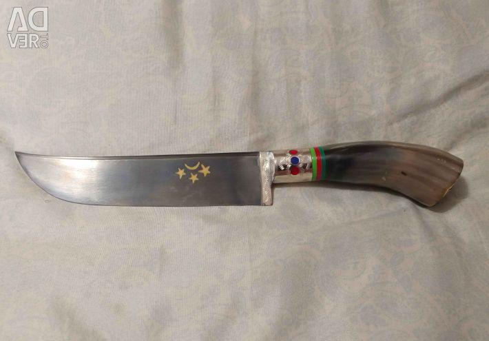 Kitchen knife Pchak Bull Horn
