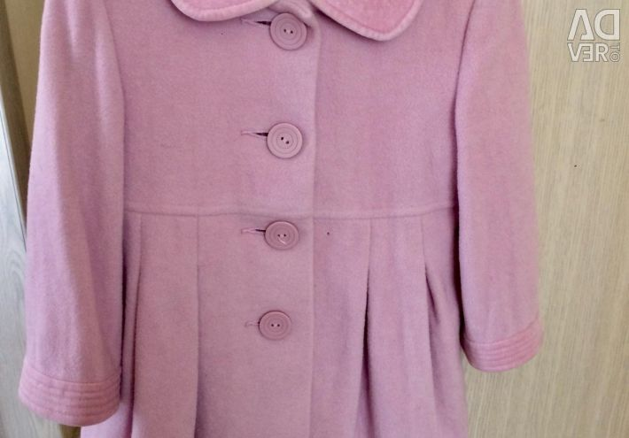 Coat for a girl 2-5 years old