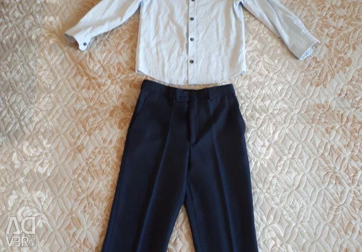Πουκάμισα και παντελόνι για ένα αγόρι σελ.122