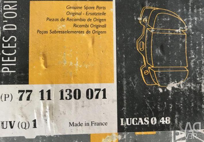 Brake pads for Renault Megane