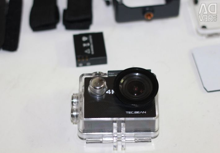 Delivery Action Camera 4K Wi-Fi Model: Tec.Be
