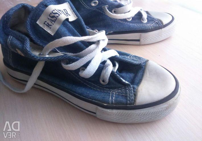 Pantofi denim