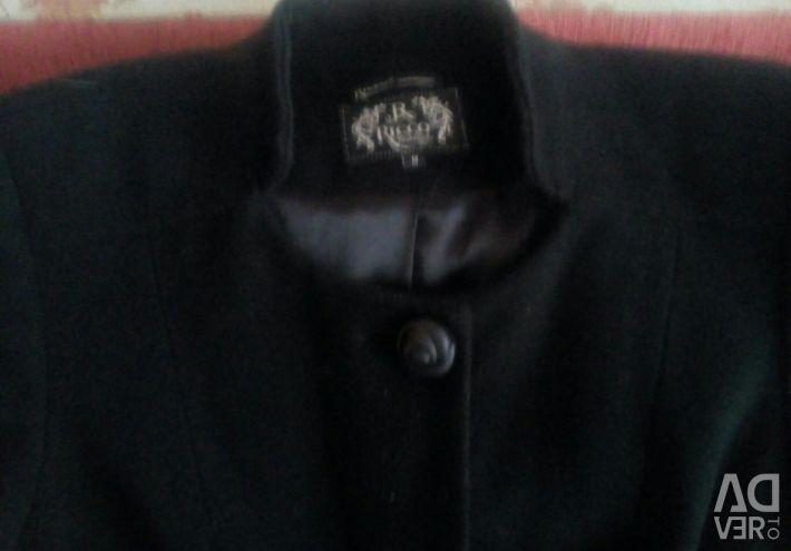 Пальто чорне демісезон