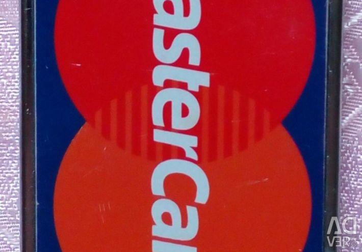 Lighter piezo Mastercard. Original.