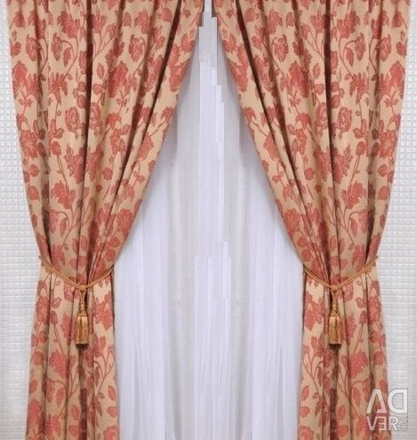 Set of curtains Paula Bordeaux