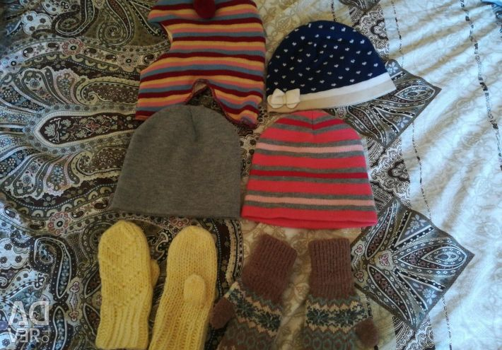 Pălării și mătuțe de la 1 an la 3 ani
