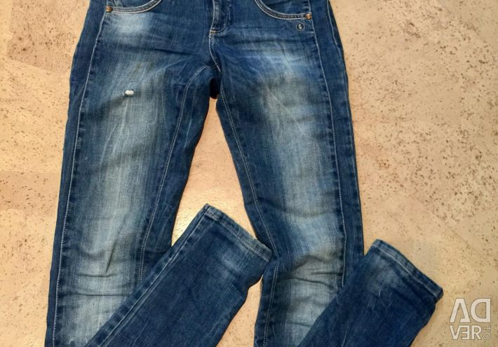 Αθλητικά παντελόνια / ζακέτες, κοφτερά τζιν