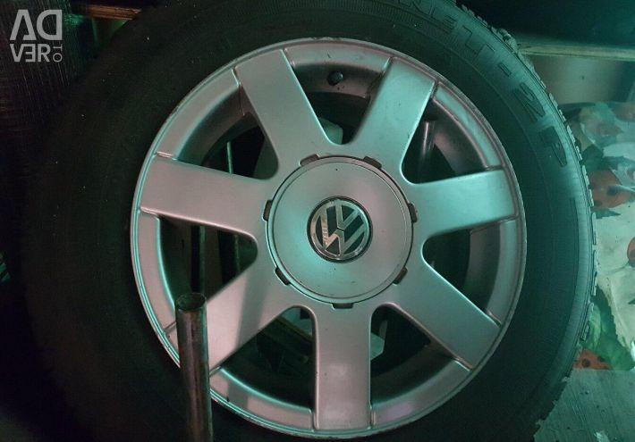 Wheels tires Volkswagen Passat B5 r15