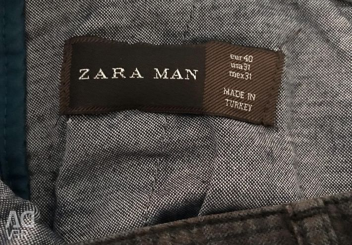 Брюки Слакси р 32 Zara