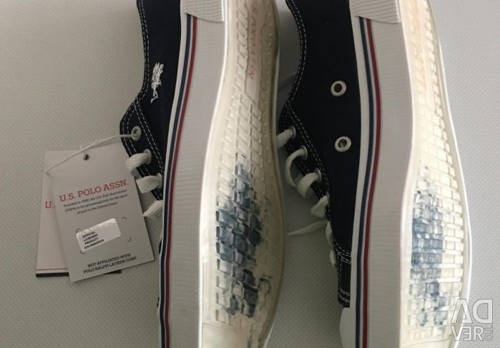 New US POLO ASNN P39 sneakers in blue