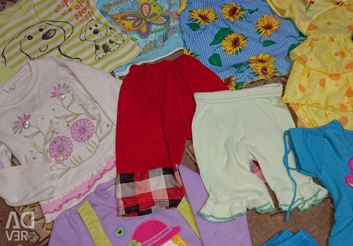 1-2 yaş kız için paket