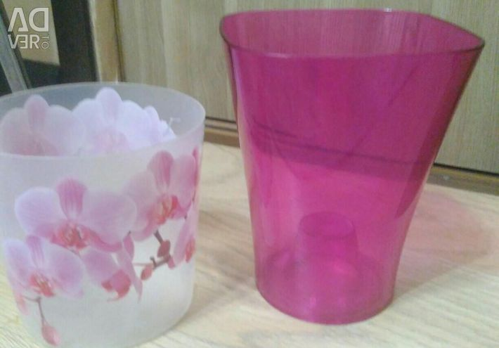 Pots for orchids