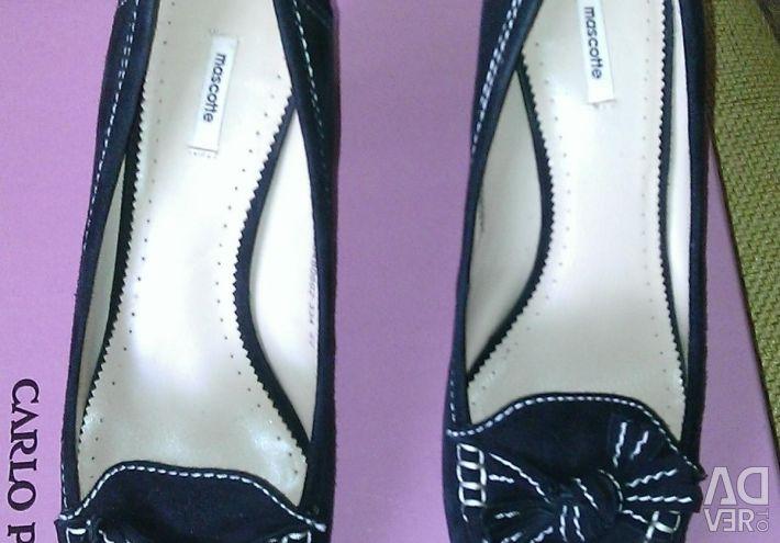 Παπούτσια σουέτ r. 40