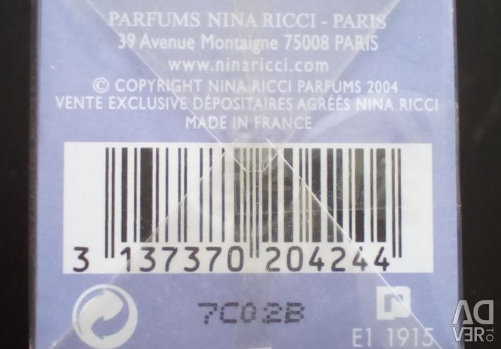 Nina Ricci Dragoste în Paris. Femeile de parfum apă