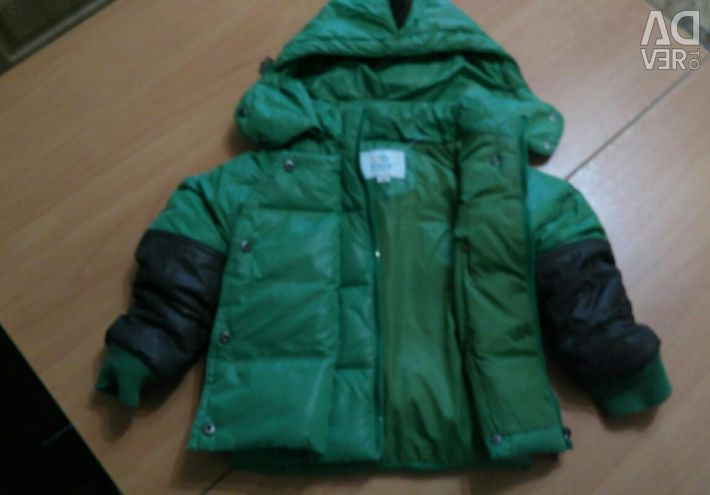 Warm jacket for boy