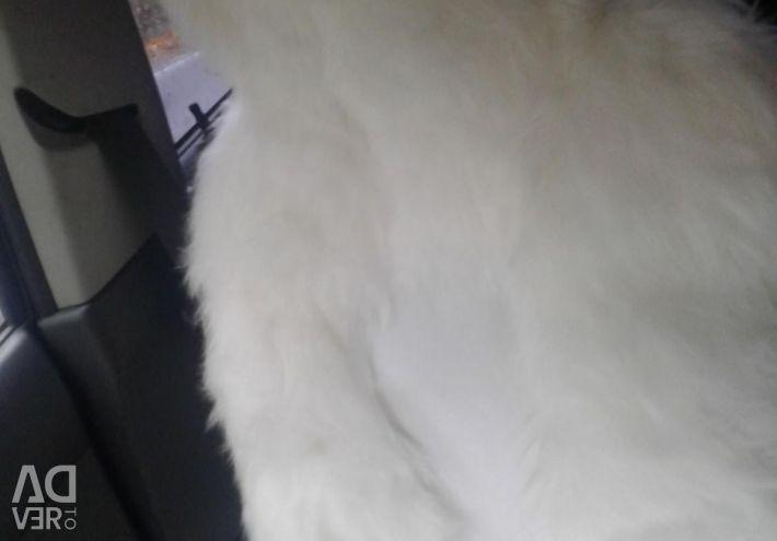 Auto Cape με λευκή τεχνητή γούνα!