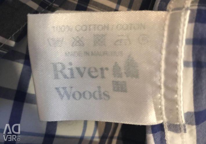 Crazy Shirt râu pădure original
