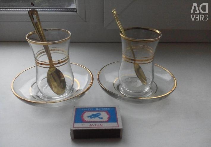 Armudiki for tea 2 pcs