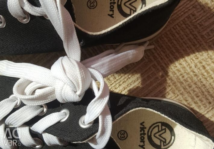 Ballet shoes, sneakers