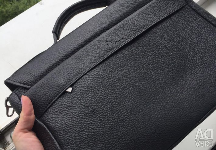 Bag (briefcase) leather A4