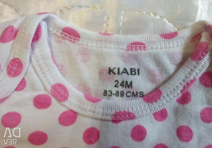 New bodysuit KIABI 24 months