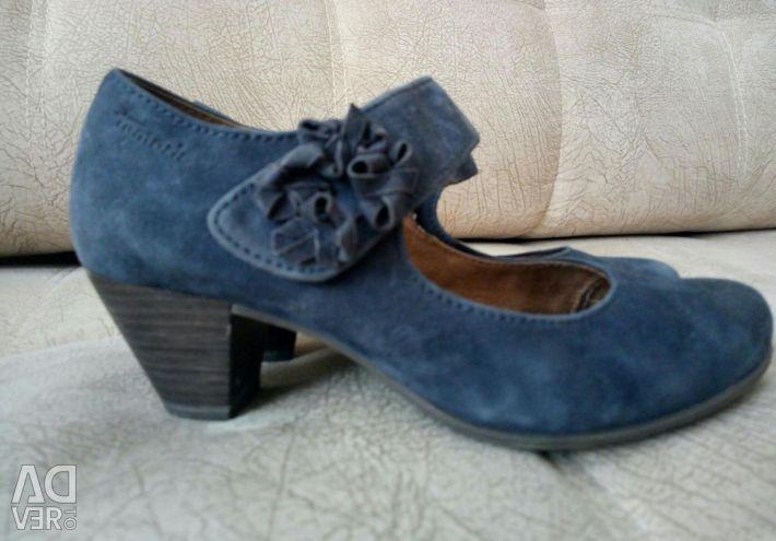 Туфли 36 размер , нат. замша