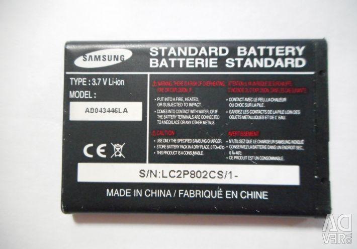 SAMSUNG battery used lc2p802cs / ab463446bu