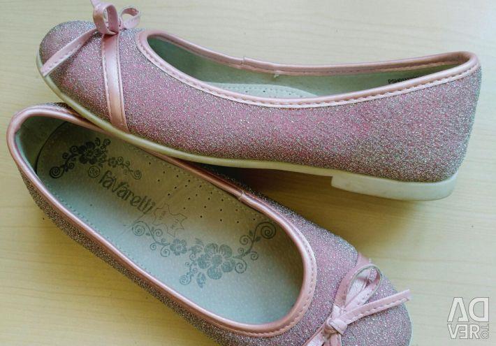 Παπούτσια παπούτσια μπαλέτου παπουτσιών Νέο μέγεθος 35-36