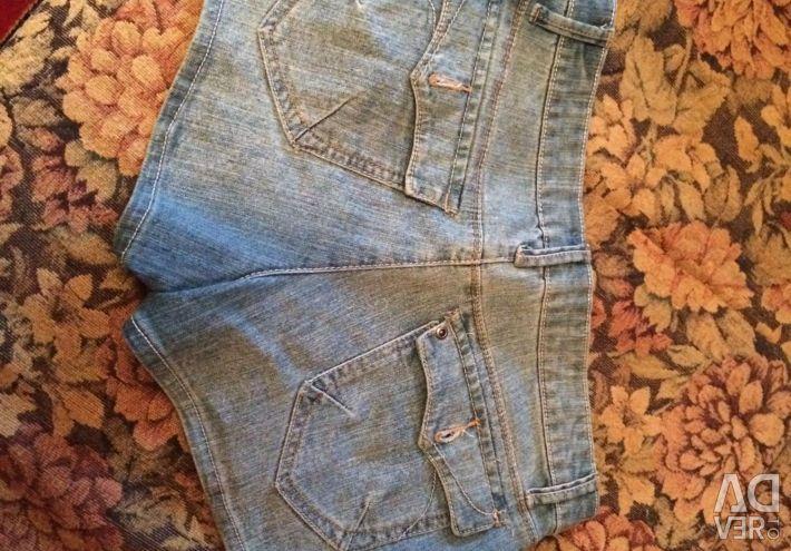 Denim Shorts Teasel