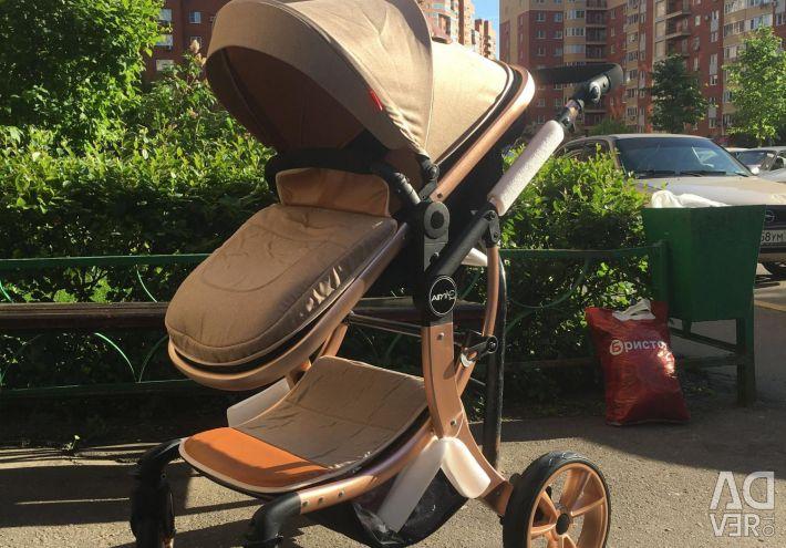 Stroller 2 in 1 new