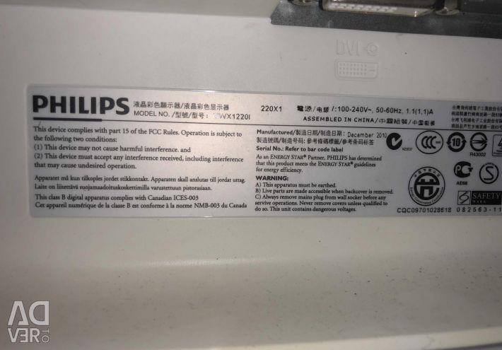 Monitor Philips MWX1220i
