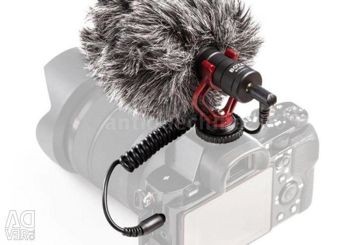 Μικρόφωνο κάμερας BOYA BY-MM1