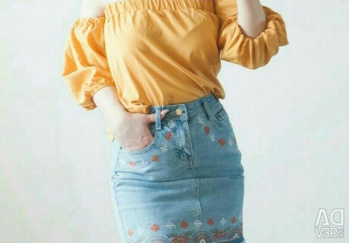 Κίτρινη μπλούζα